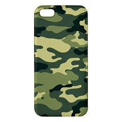 Camouflage Camo Pattern Apple iPhone 5 Premium Hardshell Case
