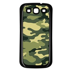 Camouflage Camo Pattern Samsung Galaxy S3 Back Case (black)