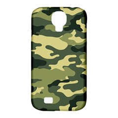 Camouflage Camo Pattern Samsung Galaxy S4 Classic Hardshell Case (pc+silicone)