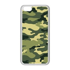Camouflage Camo Pattern Apple Iphone 5c Seamless Case (white)