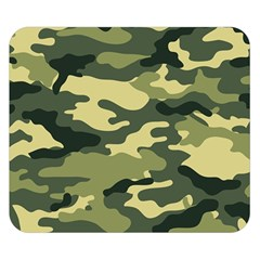 Camouflage Camo Pattern Double Sided Flano Blanket (small)
