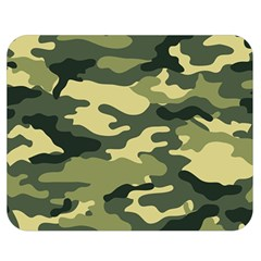 Camouflage Camo Pattern Double Sided Flano Blanket (medium)