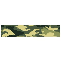 Camouflage Camo Pattern Flano Scarf (small)