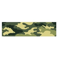 Camouflage Camo Pattern Satin Scarf (oblong)