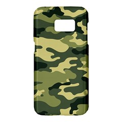 Camouflage Camo Pattern Samsung Galaxy S7 Hardshell Case