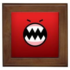 Funny Angry Framed Tiles
