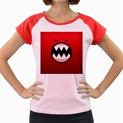 Funny Angry Women s Cap Sleeve T Shirt