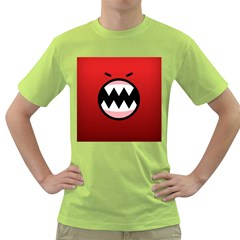 Funny Angry Green T Shirt