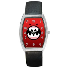 Funny Angry Barrel Style Metal Watch