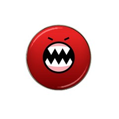 Funny Angry Hat Clip Ball Marker