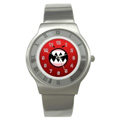 Funny Angry Stainless Steel Watch