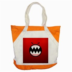 Funny Angry Accent Tote Bag