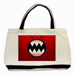 Funny Angry Basic Tote Bag (two Sides)