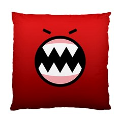 Funny Angry Standard Cushion Case (one Side)