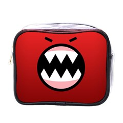 Funny Angry Mini Toiletries Bags