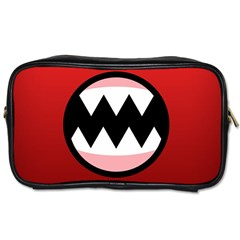 Funny Angry Toiletries Bags 2-Side