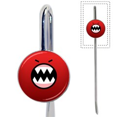 Funny Angry Book Mark