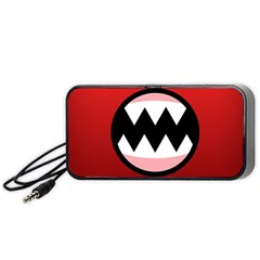 Funny Angry Portable Speaker (black)