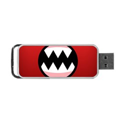Funny Angry Portable USB Flash (One Side)