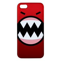 Funny Angry iPhone 5S/ SE Premium Hardshell Case