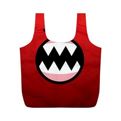 Funny Angry Full Print Recycle Bags (m)