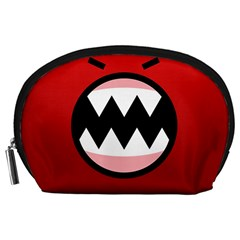 Funny Angry Accessory Pouches (large)
