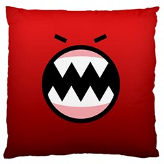 Funny Angry Standard Flano Cushion Case (Two Sides)