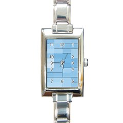 Blue Squares Iphone 5 Wallpaper Rectangle Italian Charm Watch