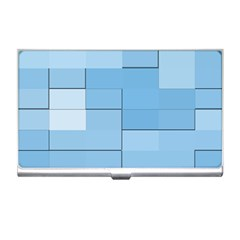 Blue Squares Iphone 5 Wallpaper Business Card Holders