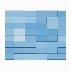 Blue Squares Iphone 5 Wallpaper Small Glasses Cloth