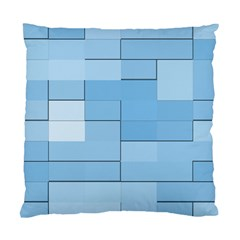 Blue Squares Iphone 5 Wallpaper Standard Cushion Case (Two Sides)
