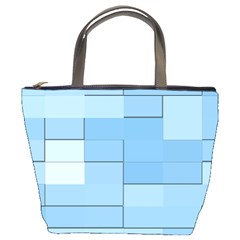 Blue Squares Iphone 5 Wallpaper Bucket Bags