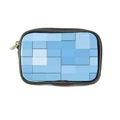 Blue Squares Iphone 5 Wallpaper Coin Purse