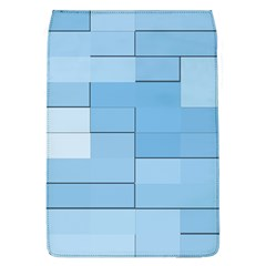 Blue Squares Iphone 5 Wallpaper Flap Covers (L)