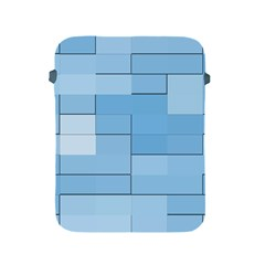 Blue Squares Iphone 5 Wallpaper Apple iPad 2/3/4 Protective Soft Cases