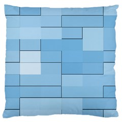 Blue Squares Iphone 5 Wallpaper Standard Flano Cushion Case (Two Sides)