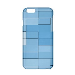 Blue Squares Iphone 5 Wallpaper Apple Iphone 6/6s Hardshell Case