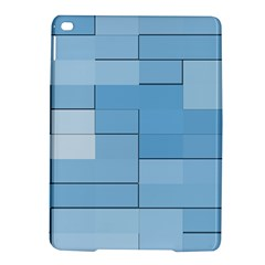 Blue Squares Iphone 5 Wallpaper iPad Air 2 Hardshell Cases
