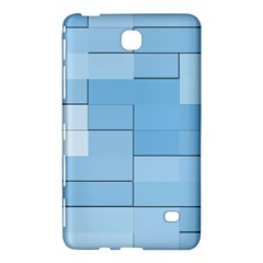 Blue Squares Iphone 5 Wallpaper Samsung Galaxy Tab 4 (8 ) Hardshell Case