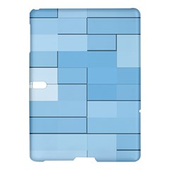 Blue Squares Iphone 5 Wallpaper Samsung Galaxy Tab S (10.5 ) Hardshell Case