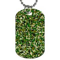 Camo Pattern Dog Tag (One Side)