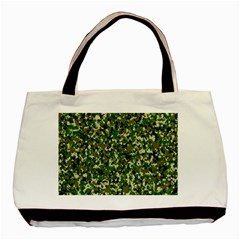 Camo Pattern Basic Tote Bag (two Sides)