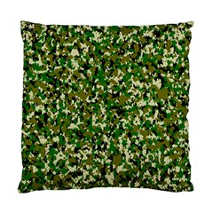 Camo Pattern Standard Cushion Case (one Side)