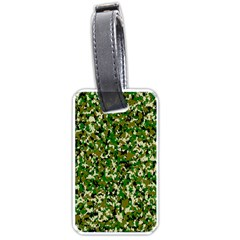 Camo Pattern Luggage Tags (two Sides)