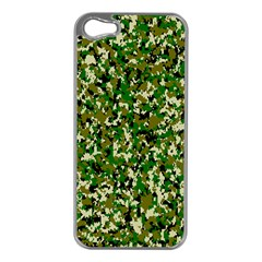 Camo Pattern Apple Iphone 5 Case (silver)