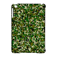 Camo Pattern Apple Ipad Mini Hardshell Case (compatible With Smart Cover)