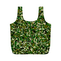 Camo Pattern Full Print Recycle Bags (M)
