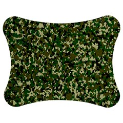 Camo Pattern Jigsaw Puzzle Photo Stand (bow)