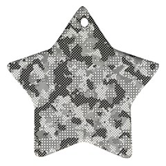 Camouflage Patterns Ornament (star)