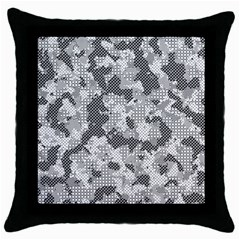 Camouflage Patterns Throw Pillow Case (Black)